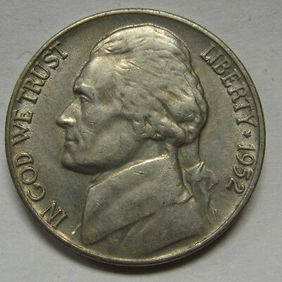 1947-D Jefferson Nickel Nice Higher Circulated Grade Coin XF Range DUTCH AUCTION