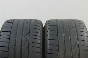 2x-Bridgestone-Potenza-RE-050A1-255-35-R18-90W-RFT-4-5mm-nr-9007
