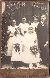 CAB photo Kommunion Konfirmation Firmierung - Rotthalmünster um 1910