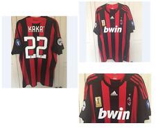 AC Milan KAKA 2008 Champions League Champions shirt size XL italy brazil MLS MLS