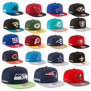 Details about New Era Cap Snapback 9FIFTY NFL Sideline 16 17 Seahawks  Patriots Raiders Cowboys dad30c3ba5a