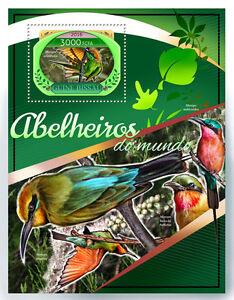 La-Guinea-Bissau-2016-MNH-bee-eaters-IV-S-S-UCCELLI-FRANCOBOLLI