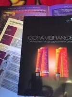 Schwartzkopf Vibrance Color Paper Chart  Swatch How To Paper