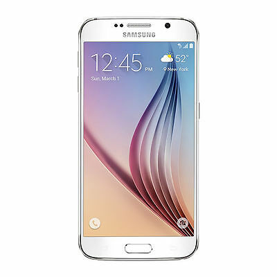 Samsung Galaxy S6 SM-G920T - 32GB - White Pearl (T-Mobile) Unlocked Smartphone