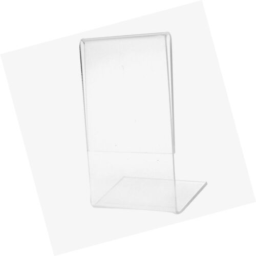 SNAP 4x6 Clear Acrylic Self Standing Frame 4 inches x 6 inches