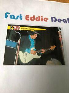 PRO SET 1992 JIMI HENDRIX FENDER STRATOCASTER CARD 36 GUINNESS BOOK OF RECORDS