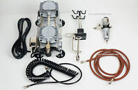Compressor For Airbrushing Sparmax Tc-2000 Up To 32 Lpmwith Auto-off Function