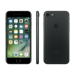 Apple iPhone 7 32GB Factory GSM Unlocked T-Mobile AT&T Smartphone - Black