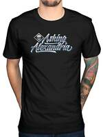 Official Asking Alexandria Script Skull T-Shirt Afterlife Reckless Relentless