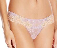 Valery Lingerie Lilac Lace Brazilian Thong- Fr 38 /us 6