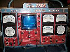 sun electric 720-eet1160 engine analyzer tester user manual pdf book  cd
