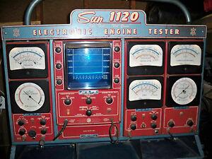 sun electric 720 eet1160 engine analyzer tester user manual pdf book rh ebay co uk Sears Gas Analyzer CO2 Gas Analyzer