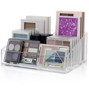 Premium-Quality-Plastic-Makeup-Organizer-Holder-Clear-Storage-Box-Case-Palette