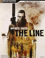 Spec Ops The Line Brady Games Strategy Guide - Playstation 3 - Xbox 360 - Pc