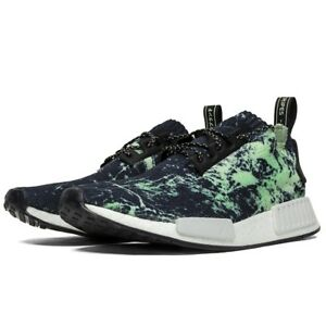 08e3978be5 Adidas NMD R1 PK Primeknit Nomad Green Marble Flash BB7996 - BRAND ...