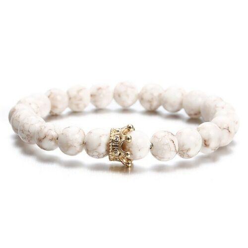 Elastisch Damen Modisch Weiß Acryl Armband