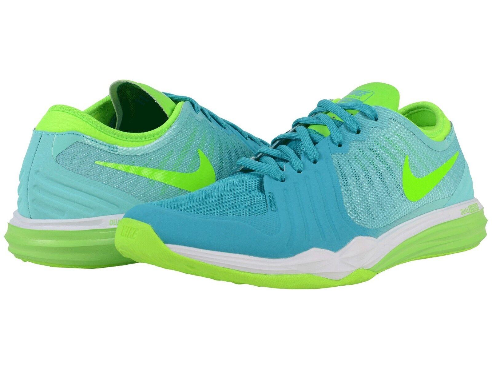 Nuove Nike Da Donna Doppia Fusione Tr 4 Print Misura 6,5 Turchese / Verde