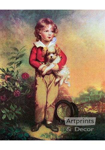 Art Print of Vintage Art Master Simpson by Arthur Devis
