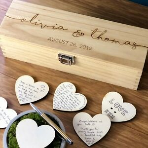 Wedding-Guest-Book-Alternative-Personalised-Wooden-Guestbook-Rustic-Drop-Box
