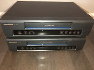 2-or-1-Vintage-Panasonic-VCR-PV-7200-Omnivision-VHS-Video-Cassette-Recorders