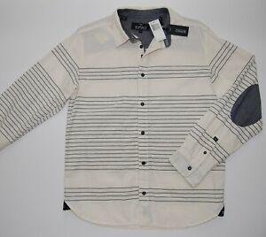 Buffalo David Bitton Mens Sifaro Long Sleeve Fashion Woven Shirt