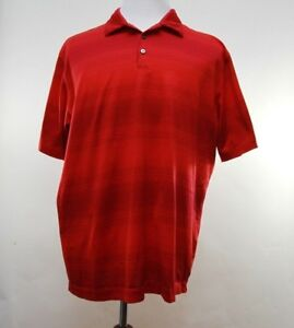 Nike-Tiger-Woods-Collection-Mens-Golf-Polo-Shirt-Dri-Fit-Cotton-Blend-Size-XL