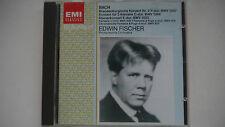 Bach : Konzerte - Edwin Fischer / Philharmonia Orchestra -  CD
