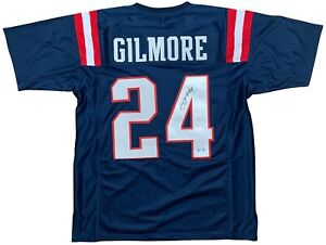 Stephon-Gilmore-autographed-signed-jersey-NFL-New-England-Patriots-JSA-COA