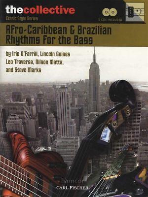 Afro-caribbean & Brazilian Rhythms For The Bass Music Book/2cds