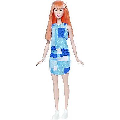 Barbie Fashionistas #60 Patchwork Denim Doll DYY90 *Nu*