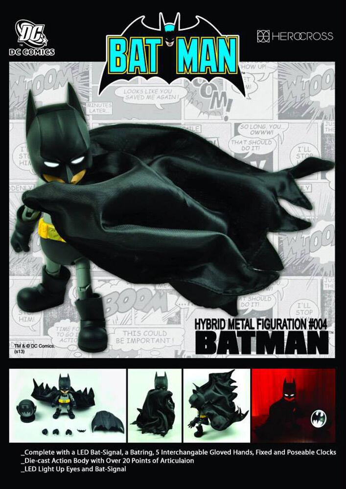 Batman Hybrid Metal Action Figure HEROCROSS