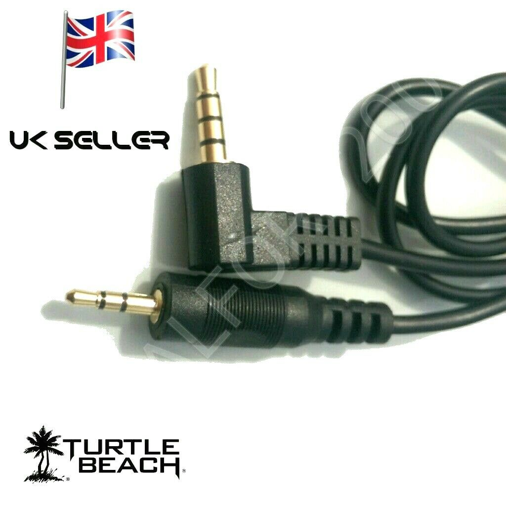 PS4 Talkback Chat Cable lead for Turtle Beach Gaming Headsets to playstation4
