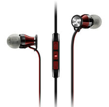 SENNHEISER MOMENTUM i IN CANAL EARPHONES+iPHONE/POD/PAD+MIC+MULTIFUNCTION REMOTE