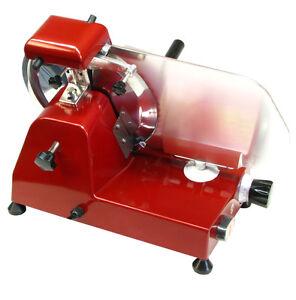 Aufschnittmaschine-Allesschneider-RS-250-ROT