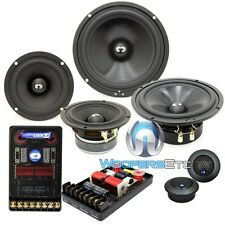 """CDT AUDIO HD-642 6.5"""" & 4"""" HIGH DEFINITION PRO 3-WAY CAR COMPONENT SPEAKERS NEW"""