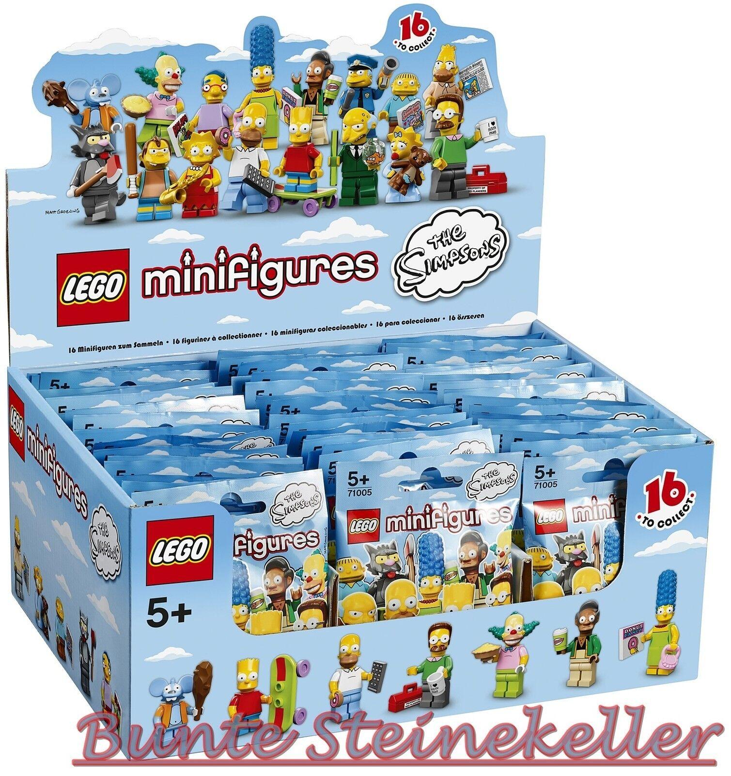 71005 LEGO ®  ensemble complet écran série 1 avec 60 figurines the simpsons  nouveau & OVP