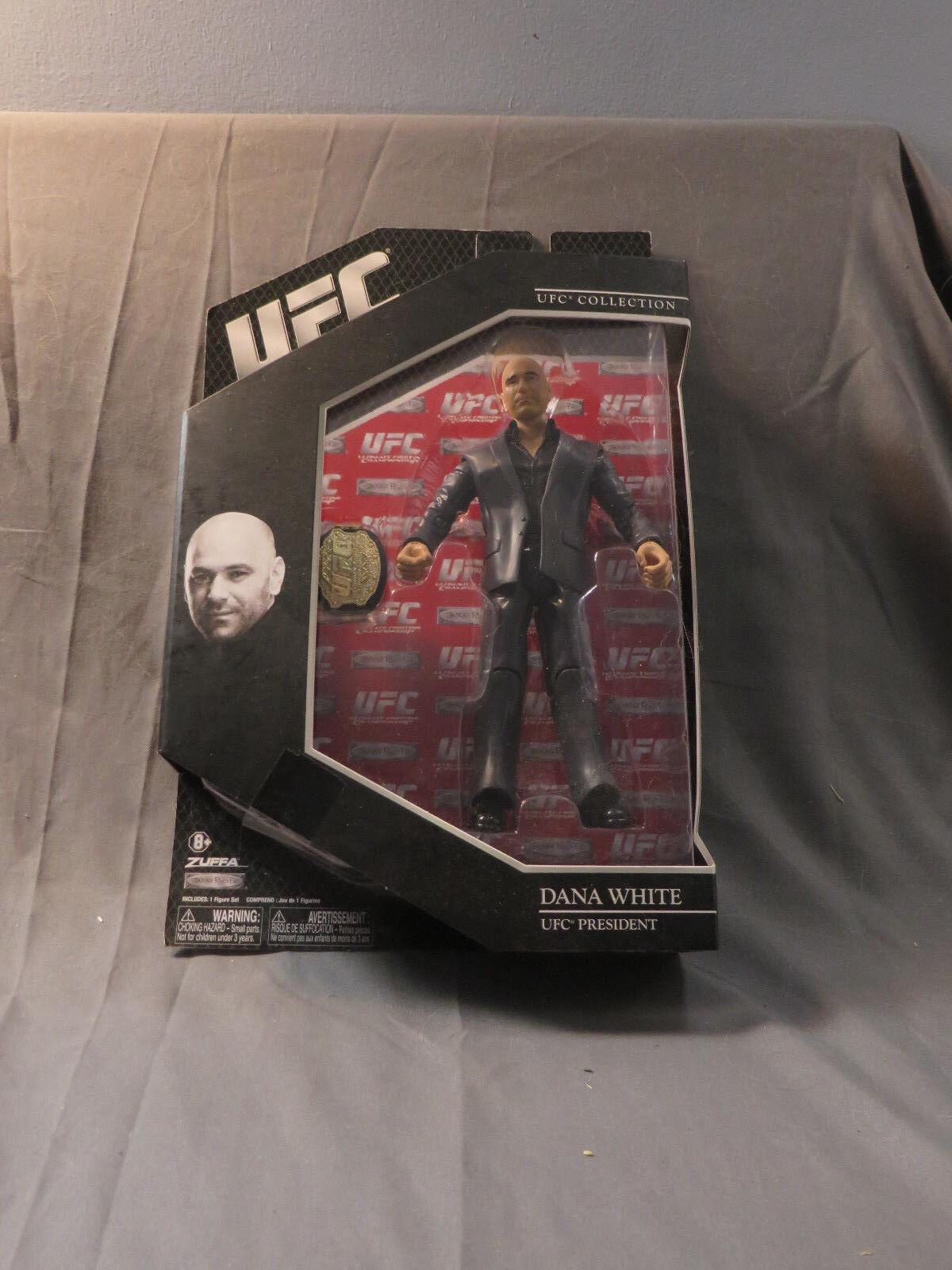 Zuffa Jakks Pacific UFC Dana White UFC President Action Figure SEALED