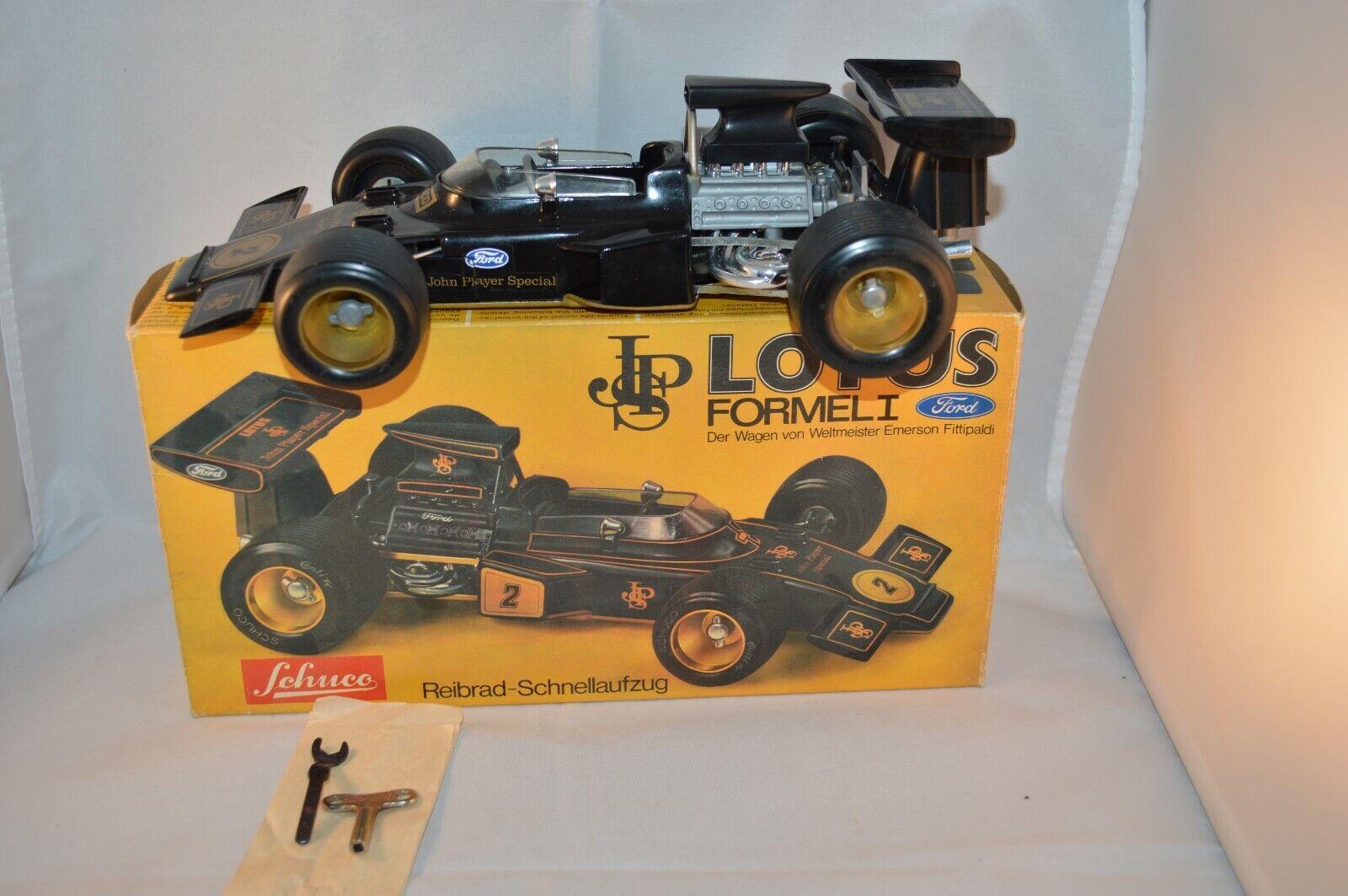 Schuco 356 177 Masseus Formel 1 mint in Box SUPERB decal 2