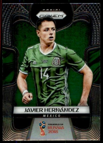 BASE CARD PANINI SOCCER PRIZM WORLD CUP RUSSIA 2018 N.127 HERNANDEZ MEXICO