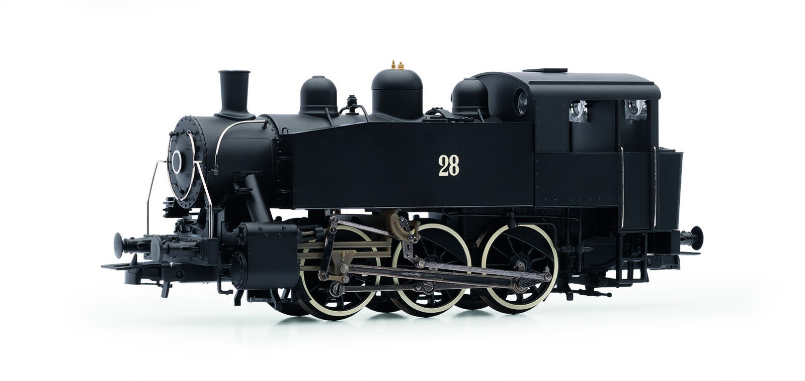Rivarossi HR2641 vapor locomotora GR. S100 831 USATC Ep.III nuevo