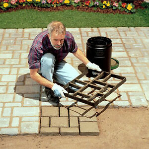 Garden Road Paving Brick Decor Path Artificial Stone Maker Concrete Mold