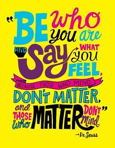 """2019 diary """"be who you are"""" quote A5"""