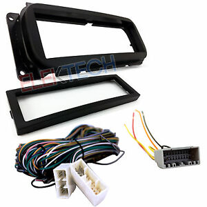 image is loading radio-replacement-dash-kit-amp-amplifier-bypass-wire-