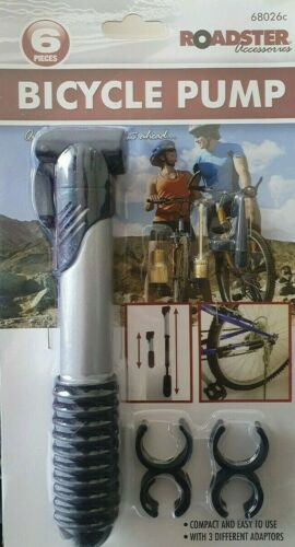 BIKE BICYCLE PUMP CYCLE PRESTA FOOTBALL PORTABLE TYRE INFLATE LIGHTWEIGHT