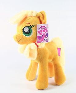 MY-LITTLE-PONY-cuddly-APPLEJACK-10-034-plush-soft-toy-MLP-G4-NEW