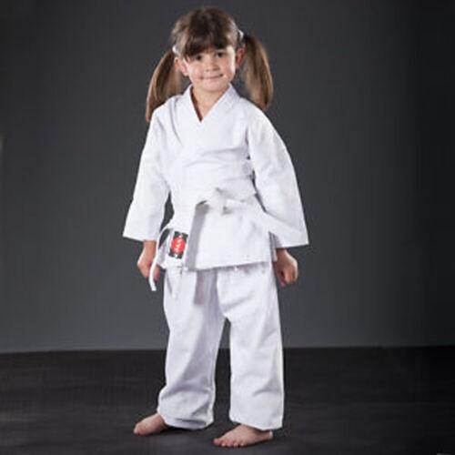 Gi  Adult Kids, NEW White light weight Karate Uniform