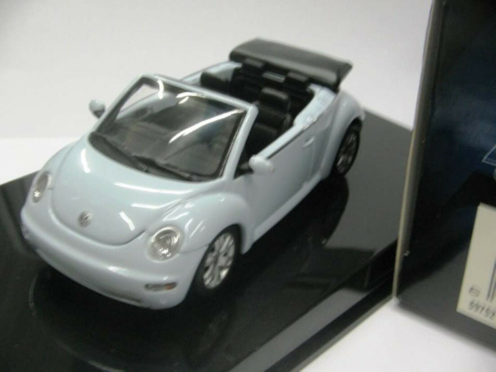 WOW EXTREMELY RARE VW New Beetle 1.8L Turbo Aq bluee 1 43 Auto Art-RSi Minichamps