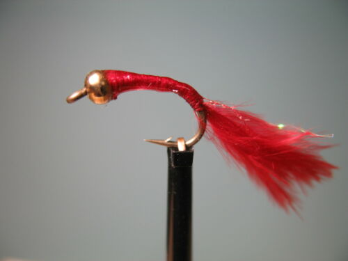 16 available 14 3 X GOLD HEAD EPOXY MARABOU BLOODWORMS Sizes 12