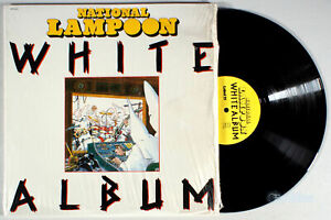 National-Lampoon-White-Album-1980-Vinyl-LP-Chevy-Chase-John-Belushi-Comedy