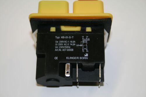 Installation de périphériques Interrupteur Bobine kb-01-s-t Moteur Interrupteur unterspannugsauslöser 08